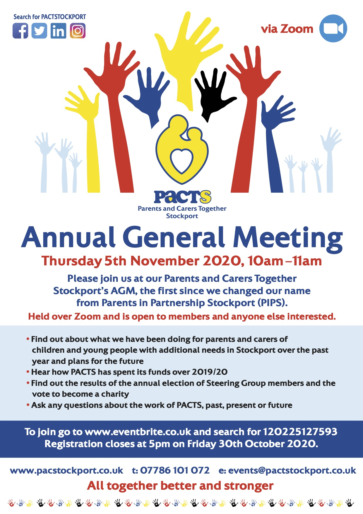 PACTS Stockport AGM